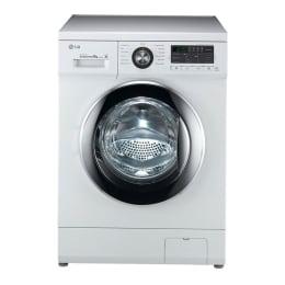 LG 8 kg Fully Automatic Front Loading Washing Machine (F1496TDP23, White)_1