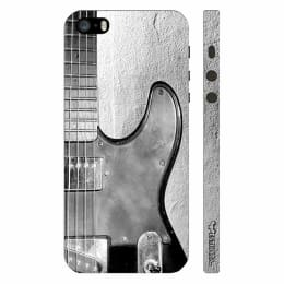 Enthopia Guitar Wall Plastic Back Case Cover for Apple iPhone 5S (ED-5491 5S, Grey)_1