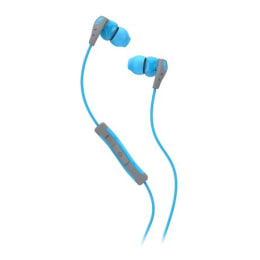 Skullcandy Method In-Ear Wired Earphones with Mic (S2CDGY-401, Blue/Grey)_1
