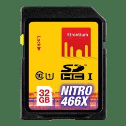 Strontium Nitro 32GB Class 10 Memory Card (SRN32GSDU1, Black)_1