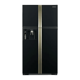 Hitachi 586 Litres R-W660PND3/FF Refrigerator (Glass Black)_1