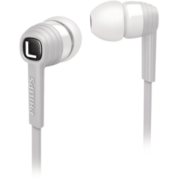 Philips In-Ear Wired Earphones with Mic (SHE7055WT/00, White)_1