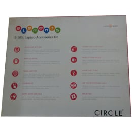 Circle Complete Technology E-500 Laptop Utility Kit (White)_1