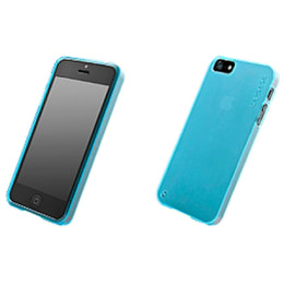 Capdase Xpose Soft Jacket Back Case Cover for Apple iPhone 5/5S (SJIH5-P203, Blue)_1