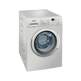 Siemens 7 kg Fully Automatic Front Loading Washing Machine (WM12K168IN, Silver)_1