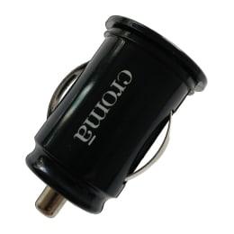 Croma Mini USB Car Charger (CA2264, Black)_1