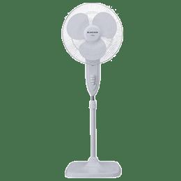 Anchor Flora 40cm Sweep 3 Blade Pedestal Fan (High Speed Motor, 14045, White)_1