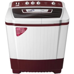 Videocon 8 kg Semi Automatic Top Loading Washing Machine (VS80P14, Maroon)_1