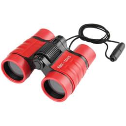 EDU Science BN009 4x - 32mm Optical Binoculars (Red)_1