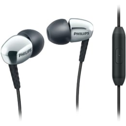 Philips In-Ear Wired Earphones with Mic (SHE3905SL/00, Silver)_1