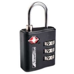 Travel Blue Combi De Luxe Lock (37, Blue)_1
