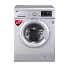 LG 7kg FH0G7QDNL52 Front Loading Washing Machine (White)_1
