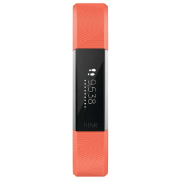 Fitbit Alta HR Small Fitness Tracker (Bluetooth LE Wireless Technology, FB408SCRS, Black/Coral)_1