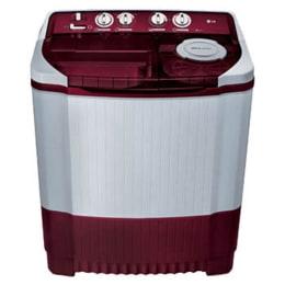 LG 8 kg Semi Automatic Top Loading Washing Machine (P9042R3SM, Burgundy)_1