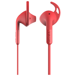Defunc Sport Plus In-Ear Wired Earphones with Mic (Red)_1