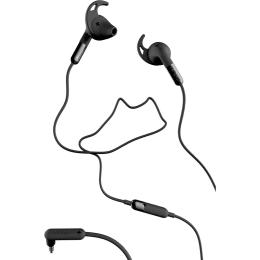 Defunc Plus Sport In-Ear Wired Earphones with Mic (Black)_1