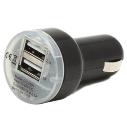 itek Rapid Dual USB Car Charger (CCH004_BK, As Per Stock Availability)_1
