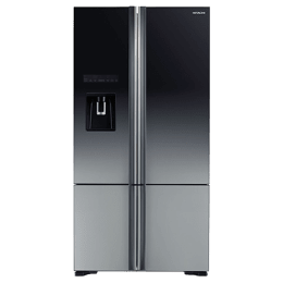 Hitachi 697 Litres Frost Free Inverter French Door Refrigerator (Powerful Cooling, R-WB800PND6X-XGR, Grey)_1