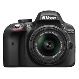 Nikon 24.2 MP DSLR Camera Body with 18 - 55 mm Lens (D3300, Black)_1