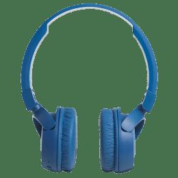 JBL T450 Bluetooth Headphones (Blue)_1