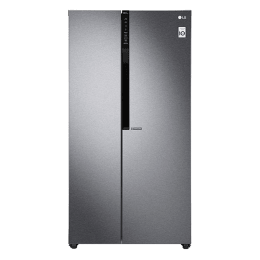 LG 679 L Frost Free Side-by-Side Refrigerator, Inverter Compressor(GC-B247KQDV.ADSQEBN, Dazzle steel)_1