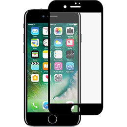 Stuffcool Mighty 3D Tempered Glass Screen Protector for Apple iPhone 7 (MGGP3DIP7, Black)_1