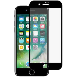Stuffcool Mighty 3D Tempered Glass Screen Protector for Apple iPhone 7 Plus (MGGP3DIP7PLUS, Black)_1