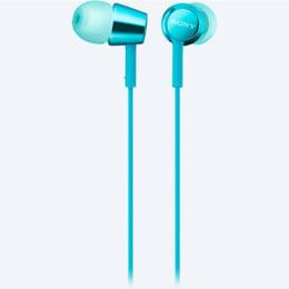 Sony In-Ear Wired Earphones (MDR-EX155, Blue)_1