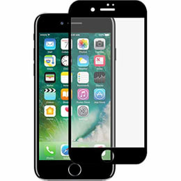 Stuffcool Mighty 2.5D Tempered Glass Screen Protector for Apple iPhone 7 Plus (MGGP25DIP7PLUS, Black)_1
