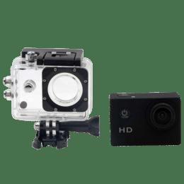 Deeray 12 MP 720p HD Action Camera (SDV-105, Black)_1