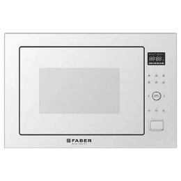 Faber 25 Litres Built-in Microwave Oven (Child Safety Lock, FBIMWO CGS, White)_1