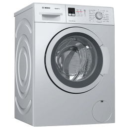 Bosch 7 kg Fully Automatic Front Loading Washing Machine (WAK24169IN, Silver)_1