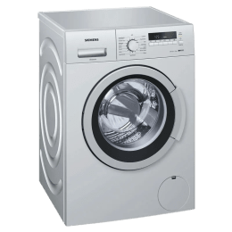 Siemens 7kg WM12K269IN Front Loading Washing Machine (Silver)_1