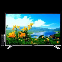 Croma 140 cm (55 inch) Full HD Direct LED Smart TV (EL7333, Black)_1