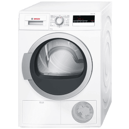 Bosch Serie 4 8 kg Fully Automatic Front Load Dryer (SensitiveDrying System, WTB86202IN, White)_1