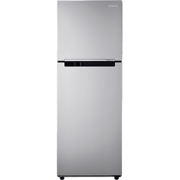 Samsung 253 L 3 Star Frost Free Double Door Inverter Refrigerator (RT28K3023SE/HL, Electric Silver)_1