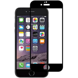 Stuffcool Mighty 2.5D Tempered Glass Screen Protector for Apple iPhone 6 (MGGP25DIP6, Black)_1