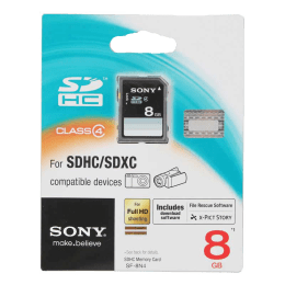 Sony 8 GB SD Memory Card (Black)_1