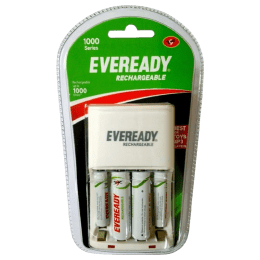 Eveready Rechargeable Battery Charger (EB1019, White)_1