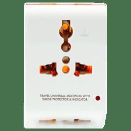 GM Modular 3 Pin Travel Universal Multi Plug (3012, White)_1