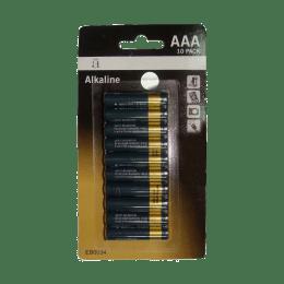 Croma AAAA Alkaline Battery (Black/Sliver) (Pack of 10)_1