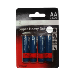 Croma AA Heavy Alkaline Battery (Blue/Red) (Pack of 4)_1