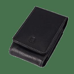 Croma Leather Slim Digital Camera Case (Black)_1