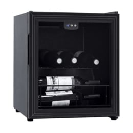 Croma CRAR0203 16 Bottle Wine Cooler (Black)_1