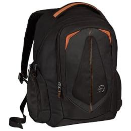 Dell Adventure 15.6 inch Laptop Backpack (Black/Orange)_1