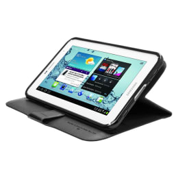 Capdase Flip Jacket Case for Samsung Galaxy Tab 2 P3100 (FCSGP3100-PU01, Black)_1