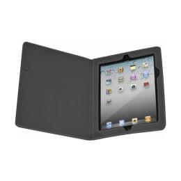 Targus Simple Protective Basic Flip Cover for Apple iPad 2/New iPad (THZ15801AP-50, Charcoal Grey)_1