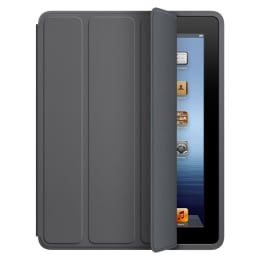 Apple Flip Case for iPad 2/3 (MD454ZM/A, Dark Gray)_1