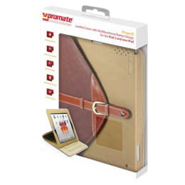 DigMaster Leather Flip Cover for Apple iPad/iPad 2 (IPOSE9, Brown)_1
