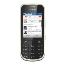 Nokia Asha 202 GSM Mobile Phone (Dual SIM) (Black)_1